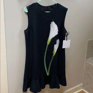 Victoria Beckham NWT sleeveless Calla Lily dress
